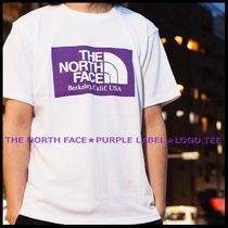 国内発送/正規品★THE NORTH FACE PURPLE LABEL★MEN'S LOGO TEE