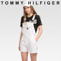 TOMMY JEANS DUNGAREE SHORT CLWTH 関税なし 国内買付 すぐ届く