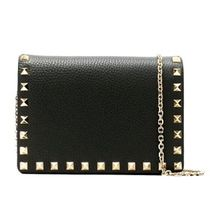 VALENTINO ROCKSTUD POUCH WITH CHAINショルダー TW2P0249VSH0NO