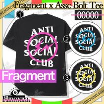 Fragment x Anti Social Social Club Bolt Tee ASSC Tシャツ