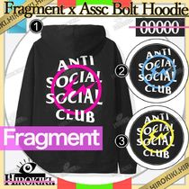 Fragment x Anti Social Social Club Bolt Hoodie ASSC Hooded