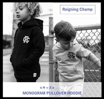 Ron Herman(ロンハーマン) キッズ用トップス 【Reigning Champ】☆キッズ商品☆ MONOGRAM PULLOVER HOODIE