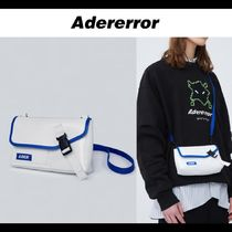 ADERERROR★20SS UNISEX Ecton cross bag / White