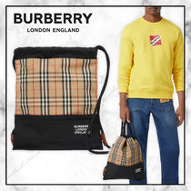 ◆Burberry20SS最新作◆ドローコード バックパック◆Beige◆