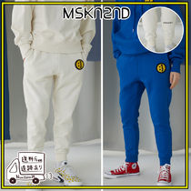 【MSKN2ND】SM]E PATCH SWEATPANTS 4色