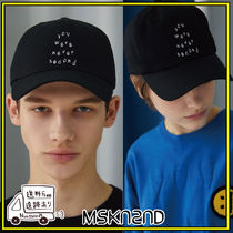 【MSKN2ND】NEVER SECOND BALLCAP BLACK