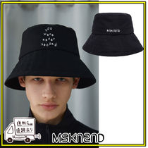 【MSKN2ND】NEVER SECOND BUCKETHAT BLACK