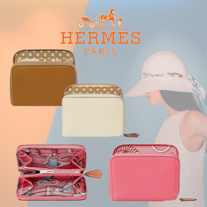 20SS新作【HERMES】Portefeuille Silk'In Compact 財布