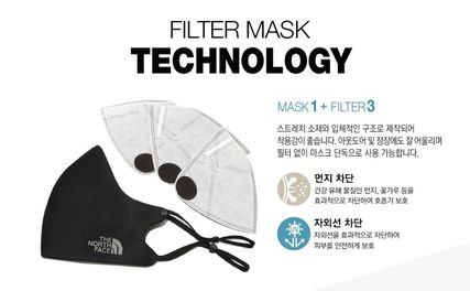 THE NORTH FACE マスク 新作! THE NORTH FACE ★ TNF FILTER MASK ★フィルターマスク(8)