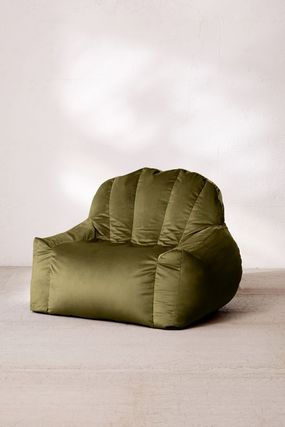 Urban Outfitters 椅子・チェア Urban Outfitters  Holly Lounge Chair ベロア クッション 全4色(7)