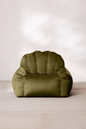 Urban Outfitters 椅子・チェア Urban Outfitters  Holly Lounge Chair ベロア クッション 全4色(8)