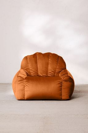 Urban Outfitters 椅子・チェア Urban Outfitters  Holly Lounge Chair ベロア クッション 全4色(10)
