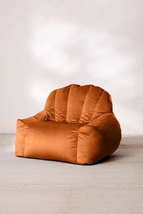 Urban Outfitters 椅子・チェア Urban Outfitters  Holly Lounge Chair ベロア クッション 全4色(11)