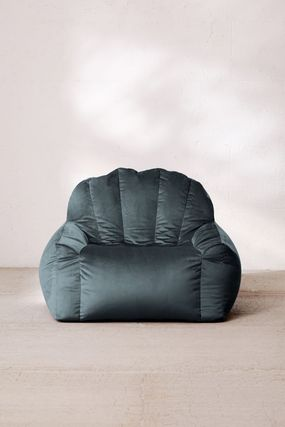 Urban Outfitters 椅子・チェア Urban Outfitters  Holly Lounge Chair ベロア クッション 全4色(13)