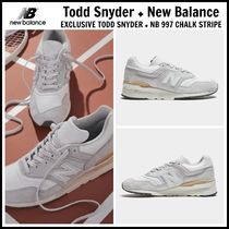 限定!! ☆Todd Snyder + New Balance☆ NB 997 CHALK STRIPE