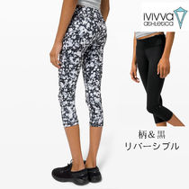 ivivva☆裏表着用!クロップ Rhythmic Crop Mid Rise Reversible