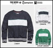 新作 ☆Todd Snyder + Champion☆ TERRY COLORBLOCK SWEATSHIRT