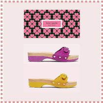 kate spade new york x dr. scholl's コラボ suede sandal