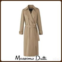 MassimoDutti♪RELAXED TRENCH COAT WITH BELT