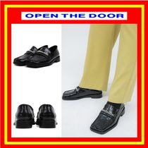 [OPEN THE DOOR] crocodile chain loafer /追跡付