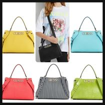 【GUESS】2wayサッチェル◆UPTOWN CHIC TURNLOCK SATCHEL