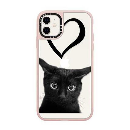 Casetify スマホケース・テックアクセサリー Casetify iphone Grip case♪Kitty and black heart♪(14)
