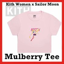 KITH NYC(キスニューヨークシティ) パーカー・フーディ Kith Women x Sailor Moon Mulberry Tee Pink SS 20 2020