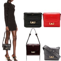 G688 SMALL EDEN BAG IN CROCODILE-EFFECT LEATHER