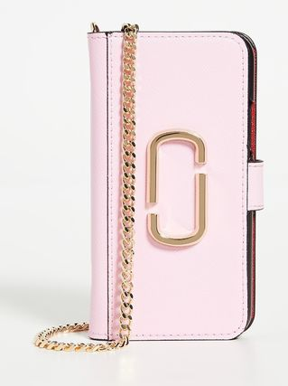 MARC JACOBS スマホケース・テックアクセサリー MARC JACOBS iPhone 11 Proケース Powder Pink Multi ピンク