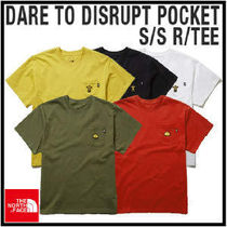 THE NORTH FACE★正規品★M'S DARE TO DISRUPT POCKET S/S R/TEE