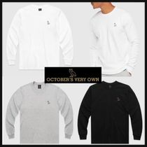 OCTOBERS VERY OWN(オクトーバーズ ベリー オウン) Tシャツ・カットソー 新作【OVO・オクトーバー】◆ OVO ESSENTIALS ロンT