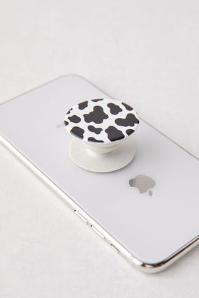 Urban Outfitters スマホケース・テックアクセサリー 国内発送☆【Urban Outfitters】牛柄 スマホ グリップ スタンド(2)