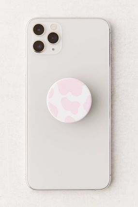 Urban Outfitters スマホケース・テックアクセサリー 国内発送☆【Urban Outfitters】牛柄 スマホ グリップ スタンド(6)