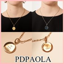 PDPAOLA AMORE ネックレス 文字入れ可 2色 Gold Silver 送料込み