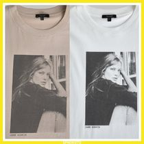 Massimo Dutti T-SHIRT JANE BIRKIN PHOTO コットン100%Tシャツ