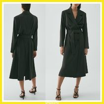 Massimo Dutti LIMITED EDITION TRENCH COAT WITH BELT