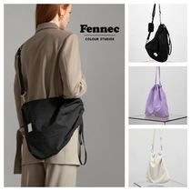 【Fennec】20新作 FABRIC SLING BAG  3colors