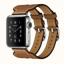 Armband Apple Watch Hermes Double Buckle Cuff 38 mm