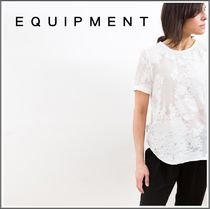 Equipment★Riley Lace Floral Tee レース Tシャツ