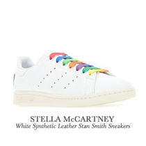【STELLA MCCARTNEY】White Leather Stan Smith Sneakers