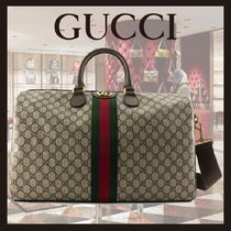 SS20◆GUCCI◆Ophidia GG medium carry-on duffle