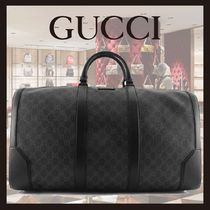 SS20◆GUCCI◆GG Black carry-on duffle