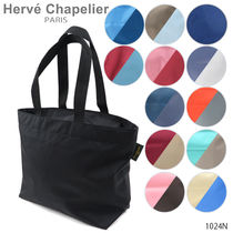 HERVE CHAPELIER(エルベシャプリエ) トートバッグ トートバッグ A4(L) スクエアショルダー エルベシャプリエ
