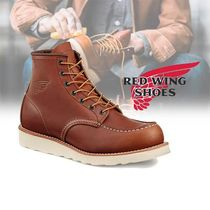 RED WING(レッドウィング) ブーツ RED WING TRACTION TRED 6インチ ブーツ brown