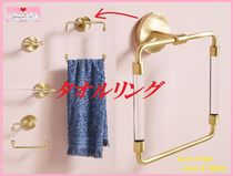 最安値保証*関税送料込【Anthro】Mikayla Lucite Towel Ring