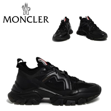 MONCLER スニーカー VIP価格【MONCLER】sneakers leave no trace nere 関税込