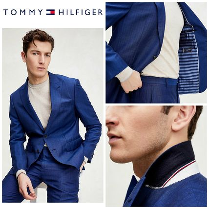 Tommy Hilfiger スーツ 【Tommy Hilfiger】☆新作☆ SLIM FIT LINEN AND WOOL SUIT