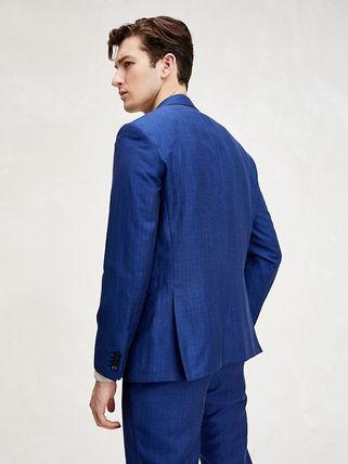 Tommy Hilfiger スーツ 【Tommy Hilfiger】☆新作☆ SLIM FIT LINEN AND WOOL SUIT(3)