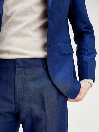 Tommy Hilfiger スーツ 【Tommy Hilfiger】☆新作☆ SLIM FIT LINEN AND WOOL SUIT(4)