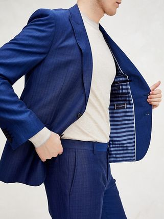 Tommy Hilfiger スーツ 【Tommy Hilfiger】☆新作☆ SLIM FIT LINEN AND WOOL SUIT(6)